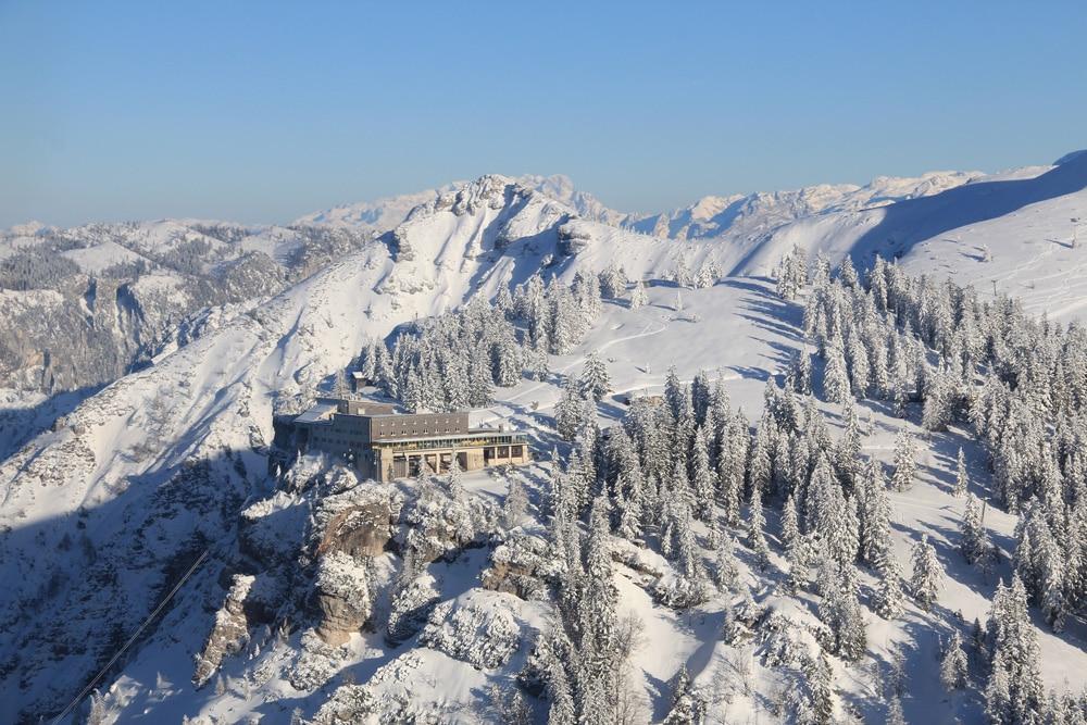 Predigtstuhl bei Schnee
