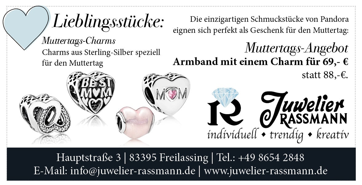 Anzeige Juwelier Rassmann Freilassing