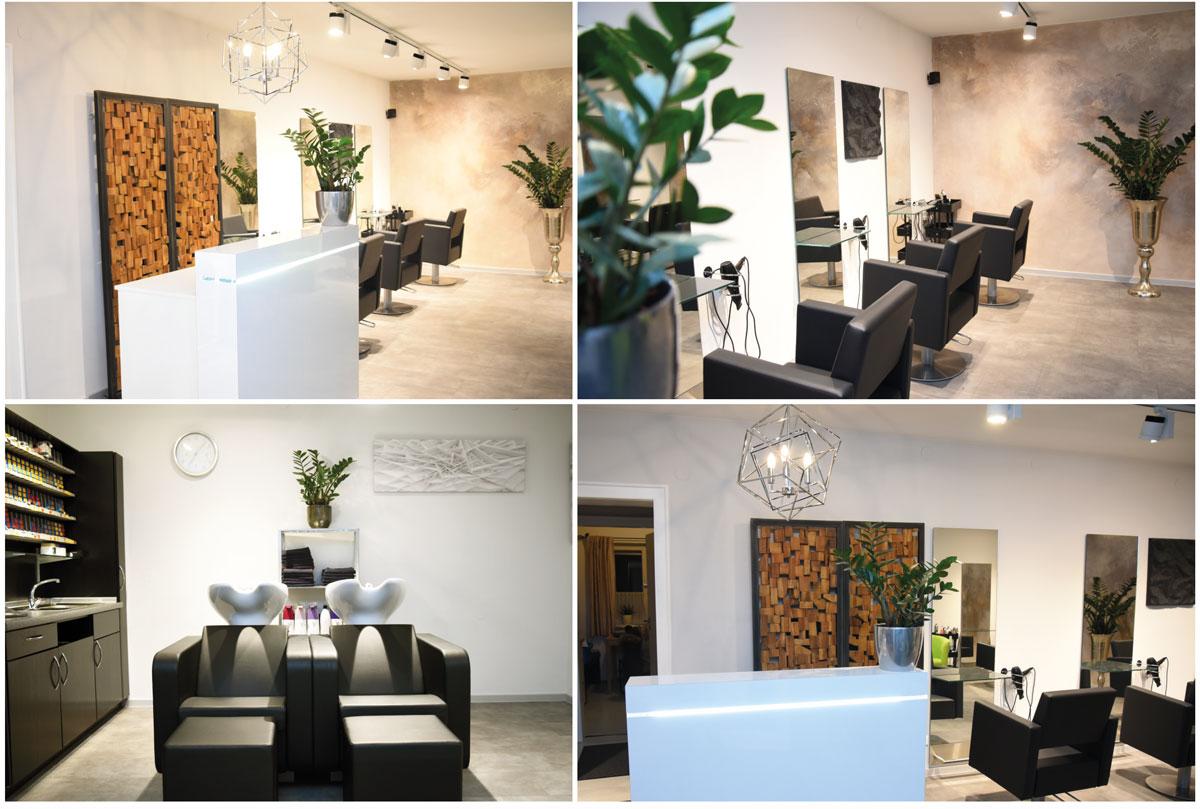Das Haarstudio Inge erstrahlt dank umfangreicher Renovierungsarbeiten in neuem Glanz.