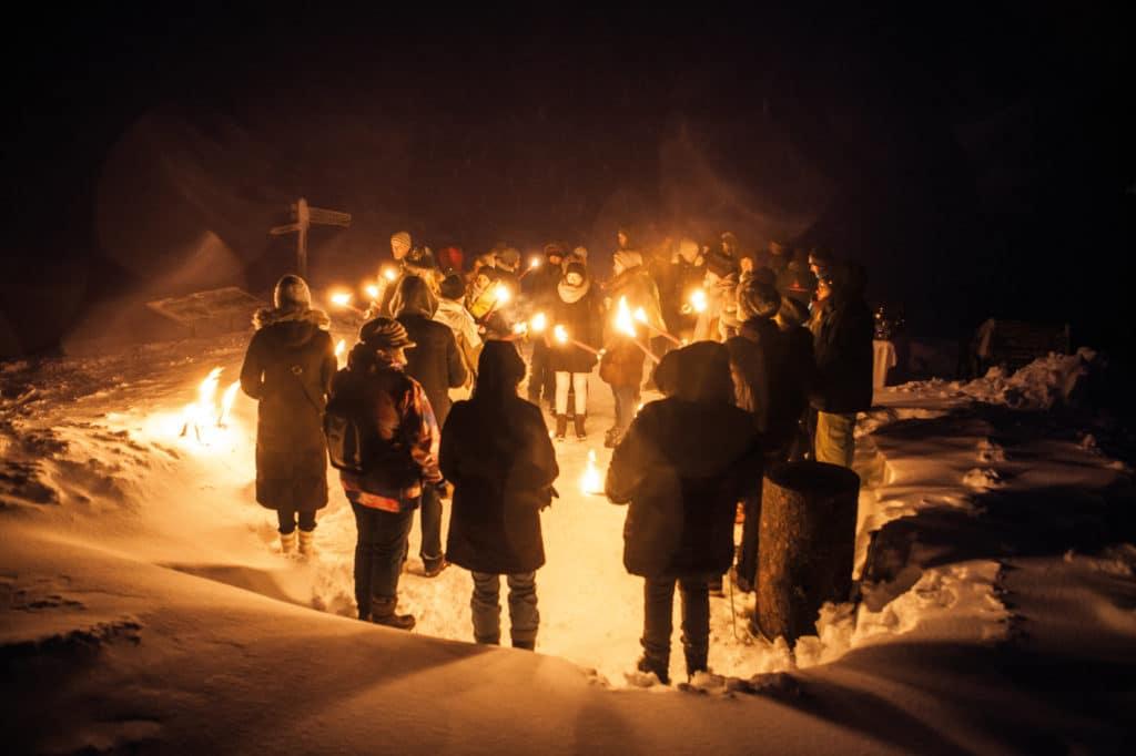 Mystische Winterabende am Predigtstuhl