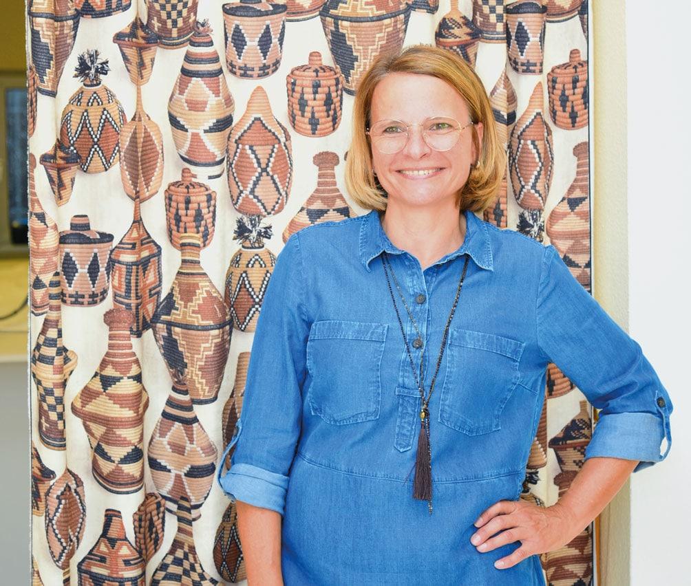 Martha Pichler vom Atelier für Vorhänge