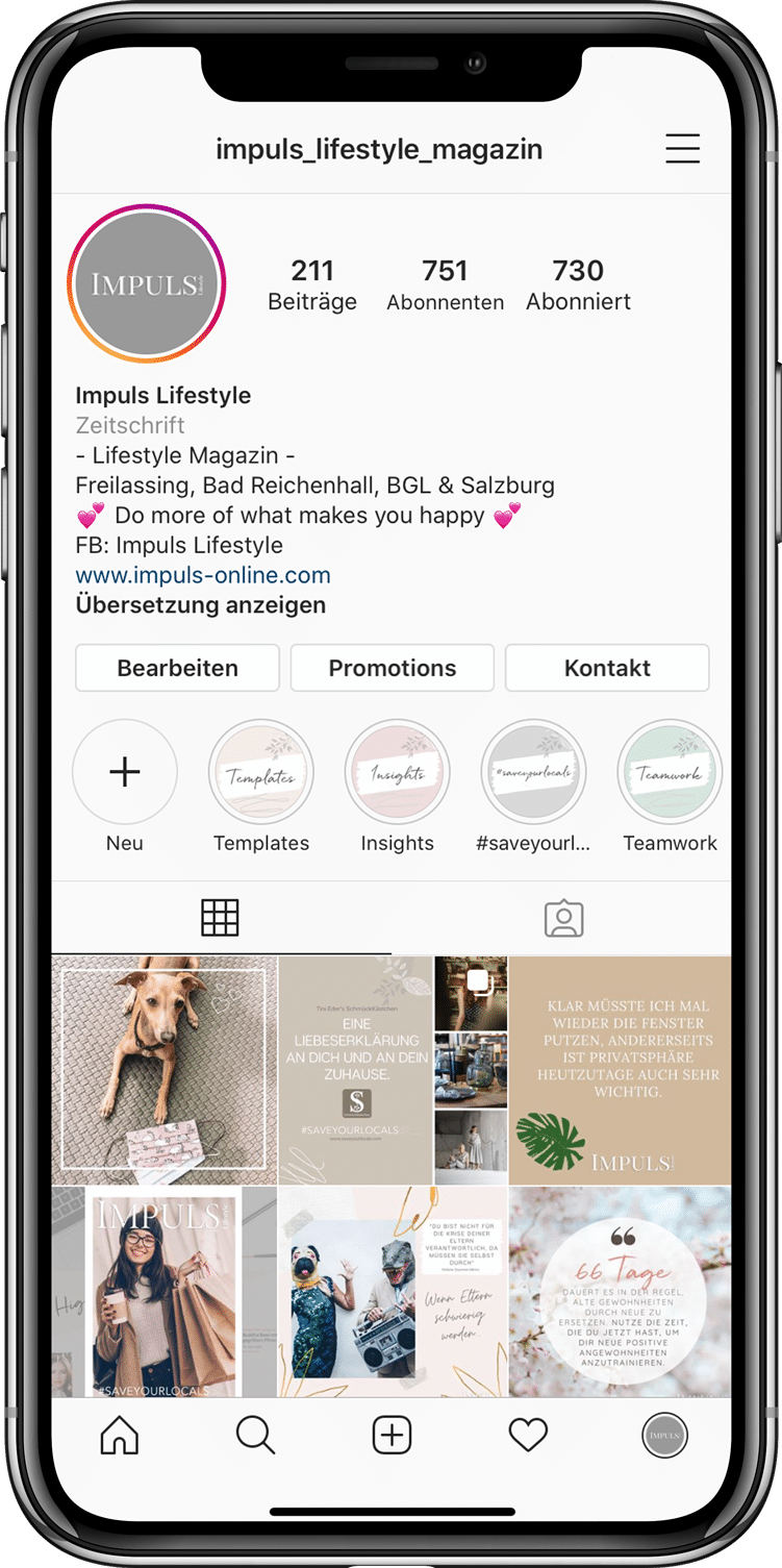 Iphone Instagram Impuls Lifestyle Magazin