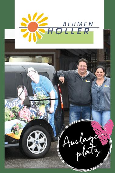 Blumen Holler Visitenkarte